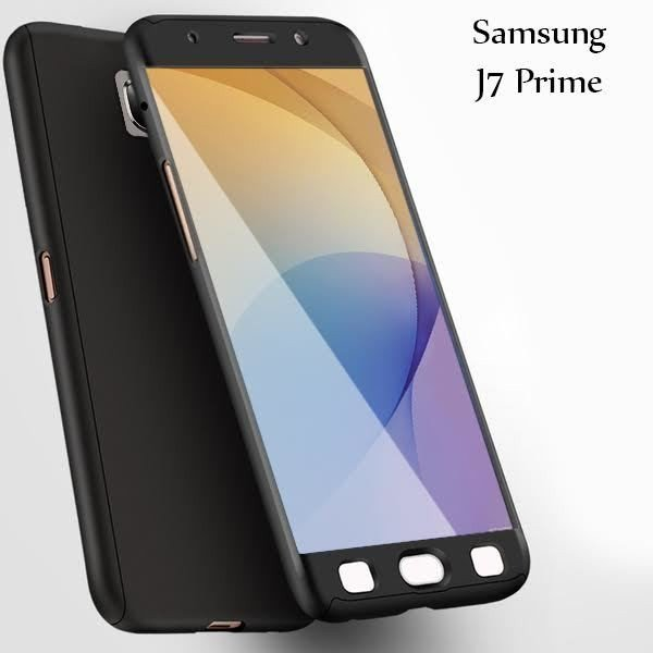 quite nice abdfe 704b0 Vaku ® Samsung Galaxy J7 Prime 360 Full Protection Metallic Finish 3-in-1  Ultra-thin Slim Front Case + Tempered + Back Cover