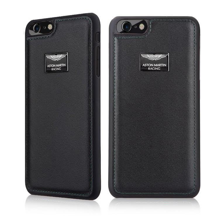 half off 914b6 4b187 Aston Martin Racing ® Apple iPhone 7 Official Hand-Stitched Leather Case  Limited Edition Back Cover