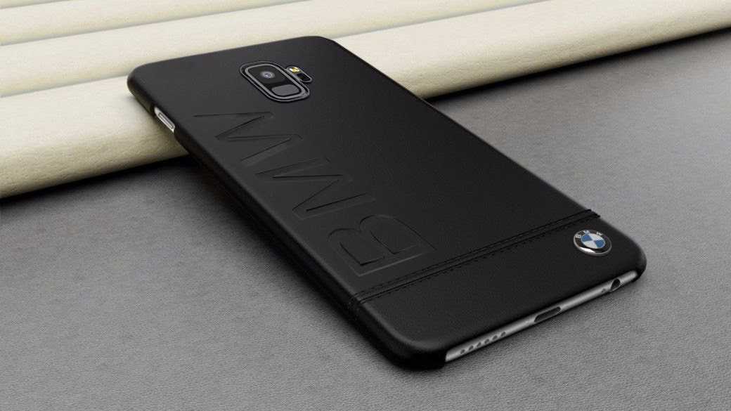 newest 5a92c 3d62c BMW ® Samsung S9 Official Racing Leather Case Limited Edition Back Cover