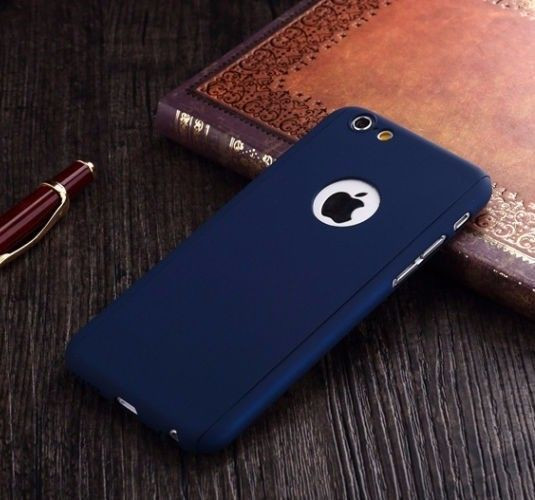 release date: d3b81 b7744 i-Paky ® Apple iPhone 6 / 6S 360 Full Protection Metallic Finish 3-in-1  Ultra-thin Slim Front Case + Tempered + Back Cover
