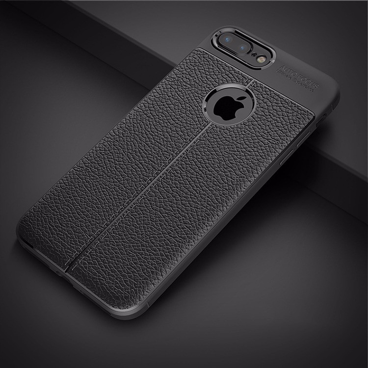 the best attitude 8b35e ff655 Vaku ® Apple iPhone 6 / 6S Auto Focus Leather Stitched Edition Soft  Silicone 4 Frames plus ultra-thin case transparent cover