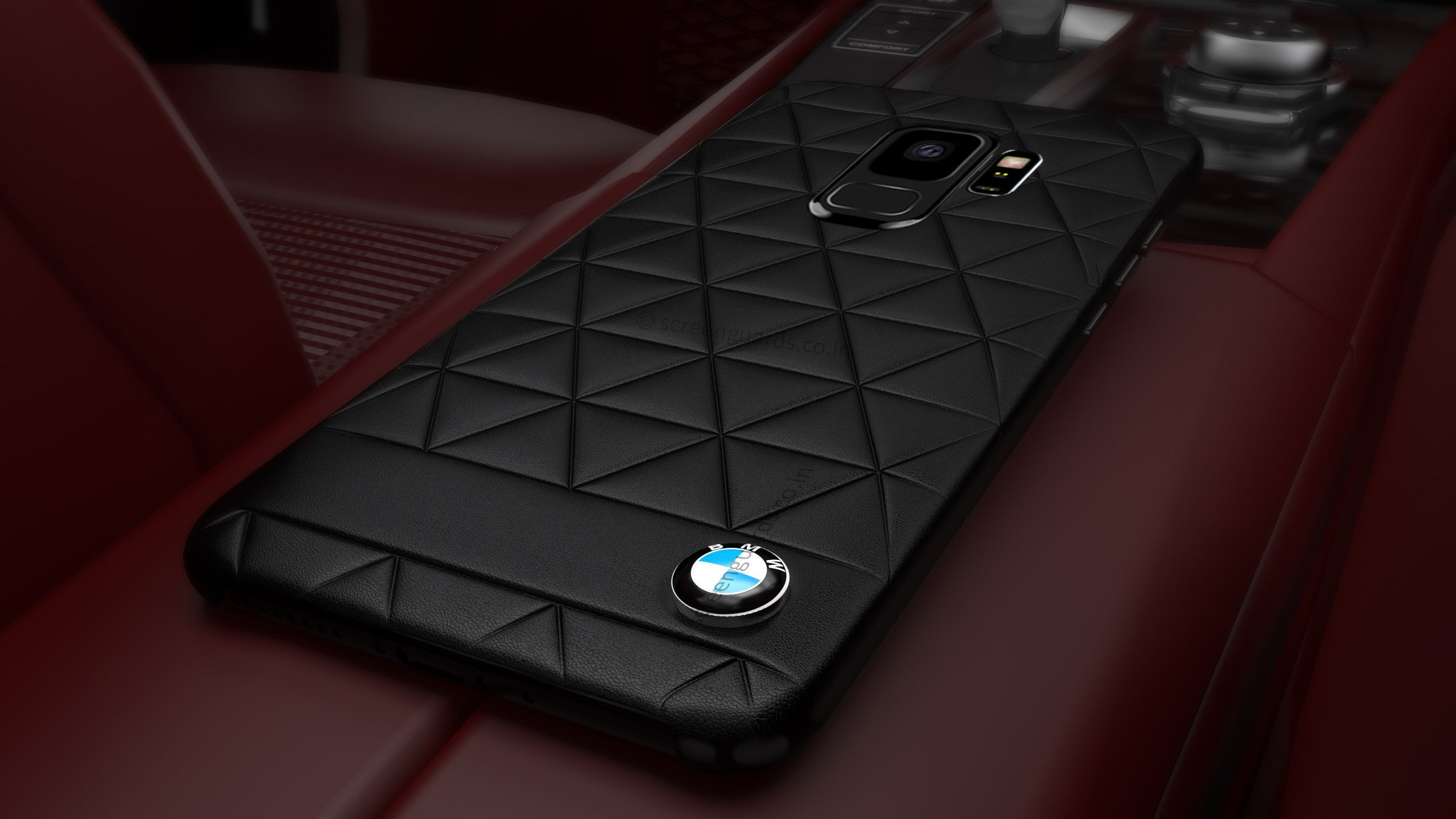 detailed look 4ad5b 3763a BMW ® Samsung S9 Official Superstar zDRIVE Leather Case Limited Edition  Back Cover