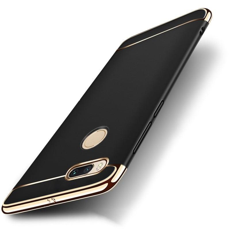 reputable site f92fa 142c5 Vaku ® Xiaomi Mi A1 Ling Series Ultra-thin Metal Electroplating Splicing PC  Back Cover