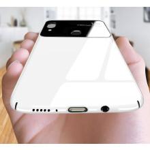 Vaku ® Huawei P20 Lite Polarized Glass Glossy Edition PC 4 Frames + Ultra-Thin Case Back Cover