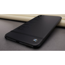 BMW ® Apple iPhone XS Official Racing Leather Case Limited Edition Back Cover