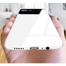 Vaku ® Oppo A3s Polarized Glass Glossy Edition PC 4 Frames + Ultra-Thin Case Back Cover