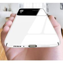 Vaku ® VIVO X21 Polarized Glass Glossy Edition PC 4 Frames + Ultra-Thin Case Back Cover