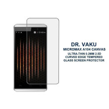 Dr. Vaku ® Micromax A104 Canvas Ultra-thin 0.2mm 2.5D Curved Edge Tempered Glass Screen Protector Transparent
