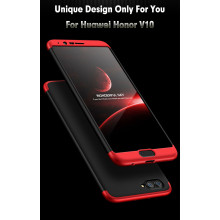 GKK ® Huawei Honor View 10 5-in-1 360 Series PC Case Dual-Colour Finish Ultra-thin Slim Front Case + Back Cover