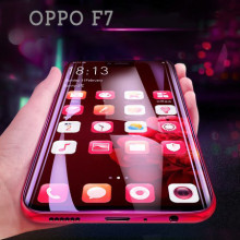 Dr. Vaku ® Oppo F7 5D Curved Edge Ultra-Strong Ultra-Clear Full Screen Tempered Glass