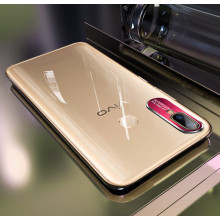 Vaku ® Vivo V9 Metal Camera Ultra-Clear Transparent View with Anodized Aluminium Finish Back Cover