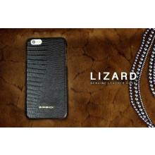 Bushbuck ® Apple iPhone 6 Plus / 6S Plus Lizard Textured Design Premium Leather Back Cover