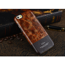 Kajsa ® Apple iPhone 6 / 6S Glamorous Rich Skin Ultra Faux Leather Protective Case Back Cover