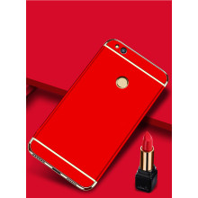 Vaku ® Huawei P8 Lite (2017) / Honor 8 Lite Ling Series Ultra-thin Metal Electroplating Splicing PC Back Cover