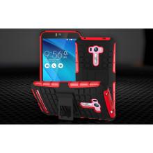 Vaku ® Asus Zenfone Selfie Kick Stand Armor Hybrid Case Bumper Back Cover