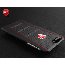 Ducati ® Apple iPhone 7 Plus SCRAMBLER Series Genuine Leather Back Cover