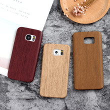 Beckberg ® Samsung Galaxy S6 Edge Rainforest Wood Series Protective Case Back Cover