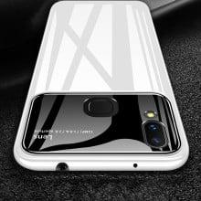 Vaku ® Vivo V9 Polarized Glass Glossy Edition PC 4 Frames + Ultra-Thin Case Back Cover