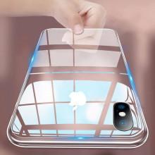 Vaku ® Apple iPhone X / XS Bayer 2 Series with Anti yellow + Anti explosion TPE case