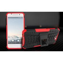 Vaku ® HTC One A9 Kick Stand Armor Hybrid Case Bumper Back Cover
