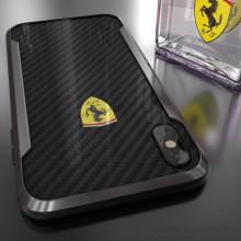 Ferrari ® iPhone X APERTA Ultra-Thin with carbon fiber and Aluminum Alloy