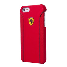Ferrari ® Apple iPhone 6 / 6S 488 PistaSpider Double Stitched Dual-Material PU Leather Back Cover