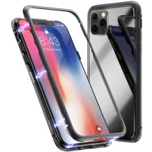 Vaku ® Apple iPhone 11 Pro Electronic Auto-Fit Magnetic Wireless Edition Aluminium Ultra-Thin CLUB Series Back Cover