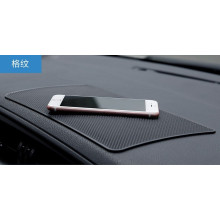Rock ® Anti-slip Anti-Bump Leather Texture Silicon Car Dashboard Mat Car Holder Black
