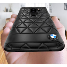 BMW ® Samsung S9 PLUS Official Superstar zDRIVE Leather Case Limited Edition Back Cover