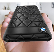 BMW ® Apple iPhone 7 Plus Official Superstar zDRIVE Leather Case Limited Edition Back Cover