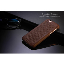 Pierre Cardin ® Apple iPhone 6/6S Egyptian Design Premium Leather Case Back Cover