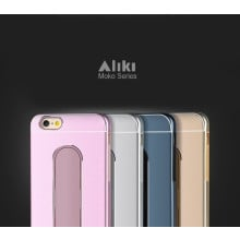 Aliki ® Apple iPhone 6 Plus / 6S Plus Moko Series Aircraft Grade Aluminium Metal Case with Press Button Stand Back Cover