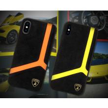 Lamborghini ® Apple iPhone XS Max Alcantra Aventador D11 Limited Edition Case Back Cover