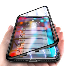Vaku ® Xiaomi Redmi Note 6 Pro Electronic Auto-Fit Magnetic Wireless Edition Aluminium Ultra-Thin CLUB Series Back Cover