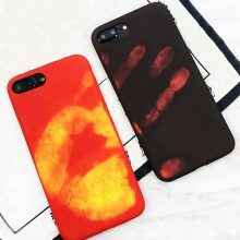 Vaku ® Apple iPhone 6 Plus / 6S Plus Volcano Fire Series Hot-Color Changing Infinite Thermal Sensing Technology Back Cover