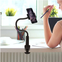 Rock ® Flexible 700mm Long Arm ABS Metal Electroplated Mobile Phone Holder / Mount