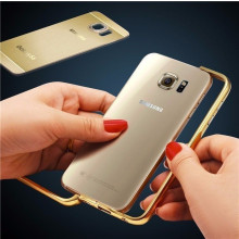 ProCASE ® Samsung Galaxy S6 Edge Ultra Slim Luxurious Brushed Aluminium Metal Bumper + Back Cover