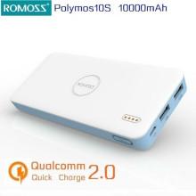 Romoss ® Long Lasting lightweight Lithium Polymer Battery 10,000 mAh Power Bank
