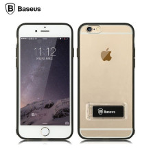 Baseus ® Apple iPhone 6 / 6S Sky Pro Shock-Proof Case with Inbuilt Viewing Stand Back Cover