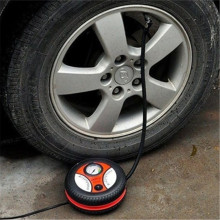VAKU ® Electric Tire Inflator with Huge AIR Flow Cylinder 260 PSI Working pressure Car Air Compressor