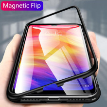 Vaku ® Xiaomi Redmi Note 7 / Note 7 Pro Electronic Auto-Fit Magnetic Wireless Edition Aluminium Ultra-Thin CLUB Series Back Cover