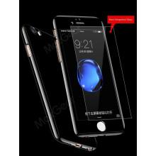 Vorson ® Apple iPhone 8 Plus 5D ETOLICA Electroplating Front Case + Tempered Glass + Back Cover