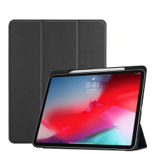 Vaku ® Apple iPad Pro 11 Aniline Texture Series 360 Degree shock-proof Water-resistant Magnetic Stand Flip Cover with Pencil Holder