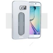 Aliki ® Samsung Galaxy S6 Edge Moko Series Aircraft Grade Aluminium Metal Case with Press Button Stand Back Cover