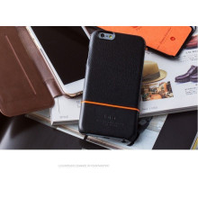 Kajsa ® Apple iPhone 6 / 6S Preppie Cowhide Ultra-thin Protective Case Back Cover
