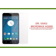 Dr. Vaku ® Micromax AQ500 Ultra-thin 0.2mm 2.5D Curved Edge Tempered Glass Screen Protector Transparent