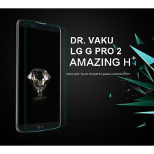 Dr. Vaku ® LG G Pro 2 Ultra-thin 0.2mm 2.5D Curved Edge Tempered Glass Screen Protector Transparent
