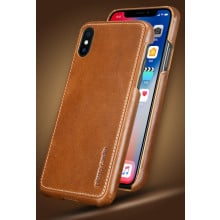 Pierre Cardin ® Apple iPhone X / XS Paris Design Premium Leather Case Back Cover