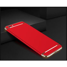 Vaku ® Vivo Y53 Ling Series Ultra-thin Metal Electroplating Splicing PC Back Cover