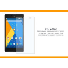 Dr. Vaku ® Micromax A99 Canvas Xpress Ultra-thin 0.2mm 2.5D Curved Edge Tempered Glass Screen Protector Transparent
